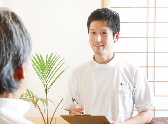 鍼やお灸の為の問診